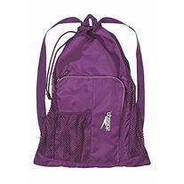 Speedo Deluxe Ventilator Mesh Equipment Bag - Prism Violet