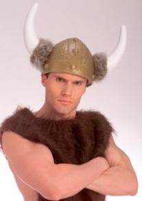 Rubie's Costume Co Dlx Viking Helmt-Gld Plst Costume
