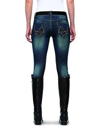 Ariat Women's Denim Breeches Indigo 34 L US