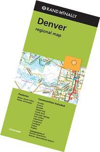 Rand McNally Denver Colorado Regional Map