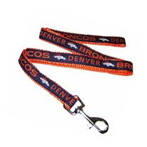 Pets First DBL-L Denver Broncos NFL Dog Leash - Large