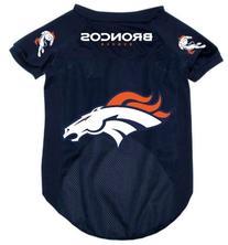 Denver Broncos Pet Dog Football Jersey Alternate MEDIUM