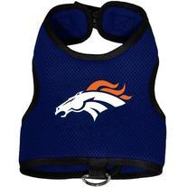 Denver Broncos Pet Dog Premium Mesh Vest Harness XL