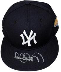 Derek Jeter Steiner Signed 2009 World Series Baseball Hat