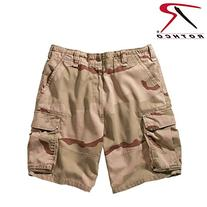 Rothco Tri Color Vintage Paratrooper Shorts, Large