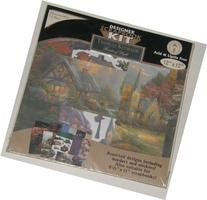 """Thomas Kinkade 12"""" x 12"""" Designer Scrapbook Kit"""