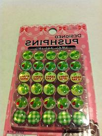 16 pcs Desinged Glittering Bling Pushpins