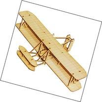 Desktop Wooden Model Kit Wright Flyer by YOUNGMODELER