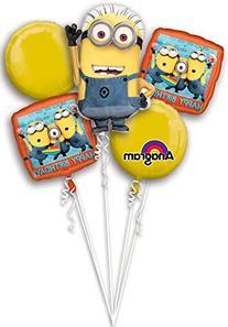 Universal Studios Despicable Me Bouquet Of Balloons