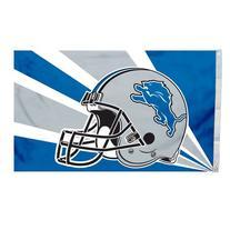 Detroit Lions 3'x5' Helmet Design Flag