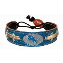 Detroit Lions Team Color NFL Football Bracelet