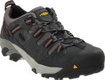 KEEN Utility Men's Detroit Low Steel Toe Shoe,Peacoat,14 EE
