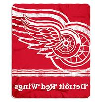 NHL Detroit Red Wings Fade Away Printed Fleece Throw, 50-