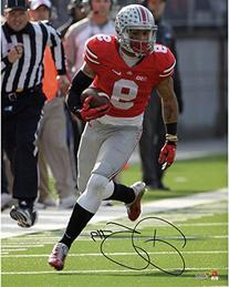 """Devin Smith Ohio State Buckeyes Autographed 8"""" x 10"""" Red"""