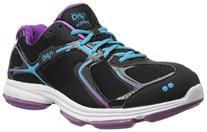 RYKA Women's Devotion Walking Shoe,Grey/Pink,5 M US