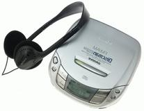 Sony DF411 Discman Portable CD Player with AM/FM Tuner