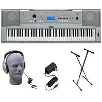 Yamaha DGX230 76-Key Digital Piano Pack with Stand, Power