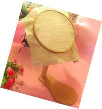 Dia21cm 360 Degree Rotation Wooden Embroidery Frame