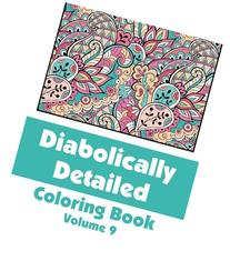 Diabolically Detailed Coloring Book