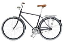 Critical Cycles Diamond Frame 1-Speed Hybrid Urban Commuter