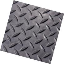 Rubber-Cal 03-206-W100-08 Diamond Plate Flooring Rolls, 1/8-