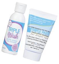 Triple Paste Diaper Rash Care Kit