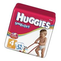 Huggies Baby Diapers, Snug & Dry, Size 4 , Case of 4/29s