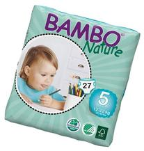 Bambo Nature Maxi Baby Diapers, Size 5 , 27