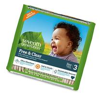 Seventh Generation Baby Diapers, Free and Clear for
