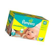 Pampers Swaddlers Diapers Size 3, 124 ea