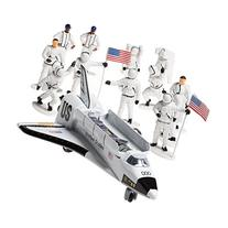 Die-cast Metal Space Shuttle with Astronaut Figures
