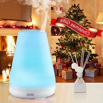 Amir Essential Oil Diffuser, Aromatherapy Ultrasonic Mist