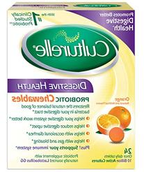 Culturelle Digestive Health Chewable Tablets, 24 Count