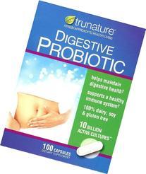 Trunature Digestive Probiotic, 10 Billion Active Cultures,