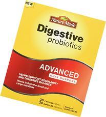 Nature Made Digestive Probiotics, Advanced, 30 ea