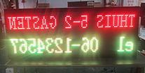Outdoor LED digit scoreboard for football,hockey,netball and