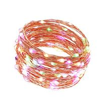 LUCKLED Dimmable Starry String Lights, 20ft 120 LED Fairy
