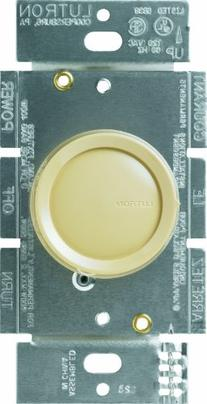 Lutron Dimmer Switch, 600W 3Way Incandescent Rotary Dimmer w