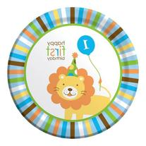 Sweet at One Boy 9-inch Plates