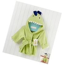 "Baby Aspen ""Splash-a-saurus"" Dinosaur Hooded Spa Robe"