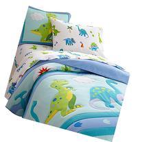 Olive Kids Dinosaur Land Light Weight Full Comforter Set