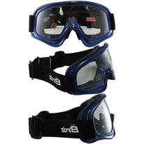 Birdz Eyewear Dirty Bird Goggles with Blue Frame