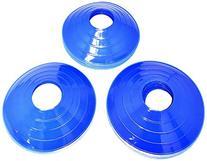 BlueDot Trading Disc Cones , Blue