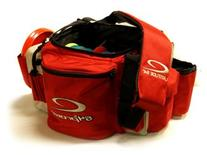 Latitude 64 Pro Bag with Bag Straps Red
