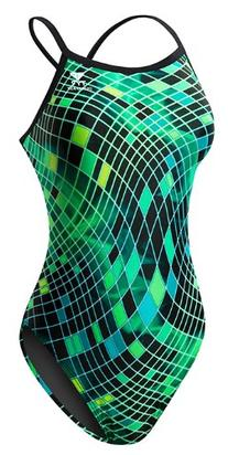 TYR SPORT Women's Disco Inferno Diamondfit Swimsuit