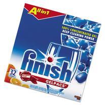 Dish Detergent Gel Packs, Orange, 32/Box