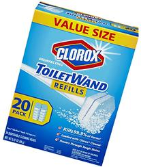 Clorox Toilet Wand Disinfecting Refills, 20 Count
