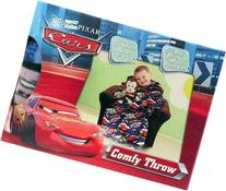 Disney Cars Comfy Throw Blanket with Sleeves ~ Toddler Size