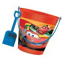 disney cars pail with shovel
