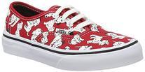 Vans Kids Disney Dalmatians/Red Skate Shoe - 13.5 M US